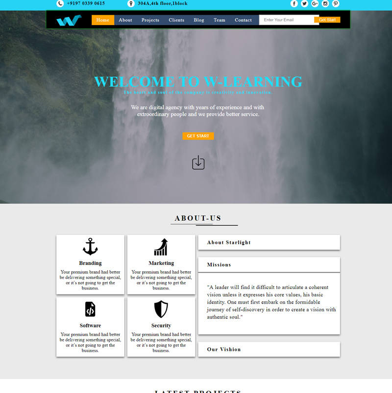 Learning Website